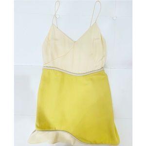 3.1 PHILLIP LIM Butter Yellow Camisole Dress Sz 6